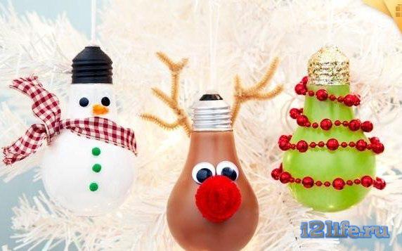шарики из лампочек